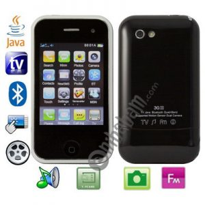 A3, Dual sim card Dual standby Dual camera, JAVA & TV Bluetooth FM function touch Mobile Phone