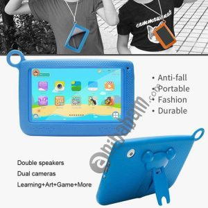 758 Kids Education Tablet PC with Bracket, 7.0 inch, 512MB+8GB