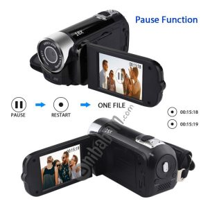 1080P HD 16X Digital Zoom 16.0 MP Digital Video Camera Recorder with 2.7 inch LCD Screen (Black)