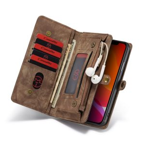 CaseMe-008 Detachable Multifunctional Horizontal Flip Leather Case with Card Slot & Holder & Zipper Wallet & Photo Frame For iPhone 11 Pro Max