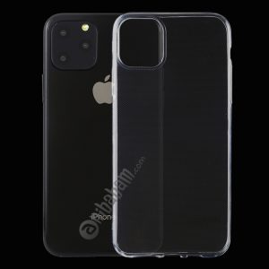 0.5mm Ultra-Thin Transparent TPU Protective Case for iPhone 11 Pro Max