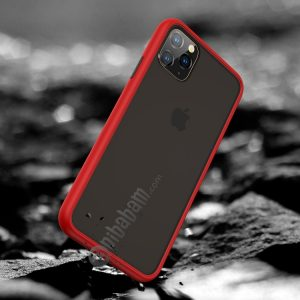 For iPhone 11 Benks Shockproof Frosted PC + TPU Protective Case