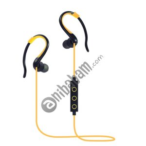 008 In-Ear Ear Hook Wire Control Sport Wireless Bluetooth Earphones with Mic, Support Handfree Call