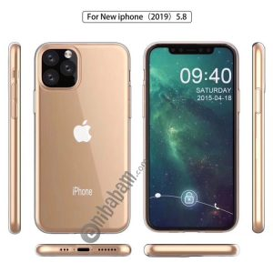 0.75mm Ultra-thin Shockproof TPU Protective Case for iPhone 11 Pro Max (Transparent)