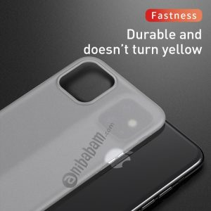 For iPhone 11 Baseus Wing Ultra-Thin Frosted PP Case
