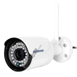 Szsinocam SN-IPC-5029CSW HD 1080P H.264 2.0 Megapixel Infrared IP Bullet Camera, Support Night Vision / Motion Detection, IR Distance: 20-30m