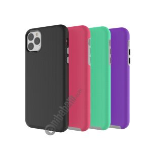 Anti-slip Armor Texture TPU + PC Case for iPhone 11 Pro Max