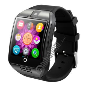 Q18 1.54 inch TFT Screen MTK6260A 360MHz Bluetooth 3.0 Smart Bracelet Watch Phone