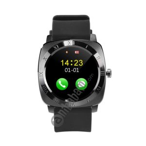 X5 1.33 inch Full IPS Capacitive Round Touch Screen Bluetooth 3.0 Silicone Strap Smart Watch Phone