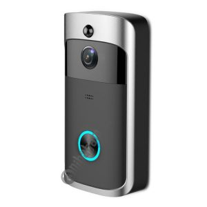M3 720P Smart WIFI Ultra Low Power Video Visual Doorbell,Support Mobile Phone Remote Monitoring & Night Vision (Black)