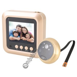 Smart WiFi Video Visual Doorbell, Support Night Vision & Video Message Leaving & Motion Detection & Multi-languages & 32GB TF Card