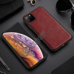 For iPhone 11 Pro Max X-level Earl III Series Leather Texture Ultra-thin All-inclusive Soft Case