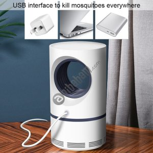 188 5W DC 5V 1A Cylindrical Type USB Photocatalyst Mosquito Killer Light Fly Killer Repellent, Length: 1.08m
