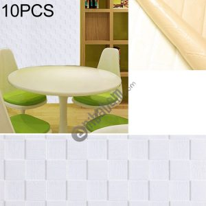 10 PCS Creative 3D Stone Pattern Wall Stickers Wallpaper Decoration, Size: 70 x 70cm