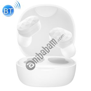 HAMTOD V200 TWS Touch Stereo Wireless Bluetooth Earphone with Charging Box, Support HD Call & Battery Display & Siri