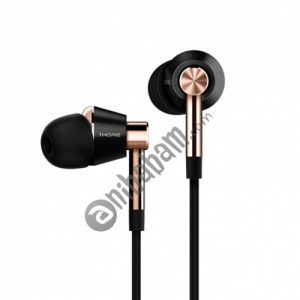 Original Xiaomi 1MORE Three Drivers (Single Moving Coil + Dual Moving Iron) Smart Wired Control In-Ear Earphone Ear Cup