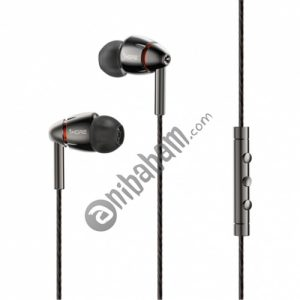 Original Xiaomi 1MORE Four Drivers (Single Moving Coil + Three Moving Iron) Smart Wired Control In-Ear Earphone Ear Cup
