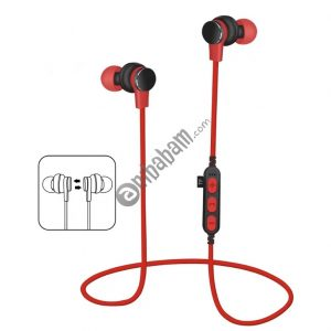 Long standby and Strong magnetic Rechargeable polymer battery Sports In-ear headphone with TF card