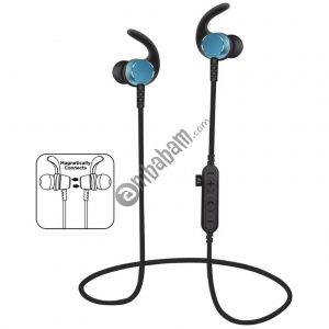 Long standby and Strong magnetic Rechargeable polymer battery Sports Ear hook headphone with TF card