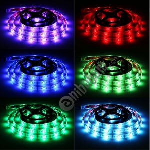 2m USB TV White Board Colorful Light Epoxy Rope Light