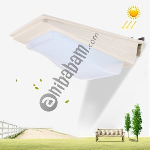 5W White Light Solar Light Control Wall Lamp