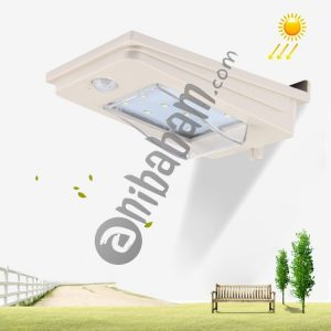 2W PA2835 White Light Solar Motion Sensor LED Light