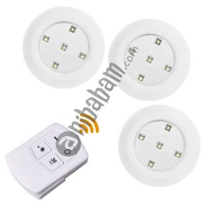 5W 3 x COB Night Light 5 LEDs Wall Lamp with Remote Control