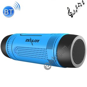 Zealot S1 Multifunctional Outdoor Waterproof Bluetooth Speaker, 4000mAh Battery