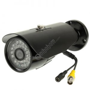 1 / 3 SONY 500TVL Digital Color Video CCTV Waterproof Camera, IR Distance: 30m