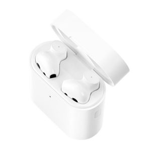 Xiaomi Air 2 TWS Bluetooth 5.0 Infrared Optical Sensor Wireless Bluetooth Earphone with Charging Box, Support Voice Assistant & HD Call & APP Custom Settings (White)