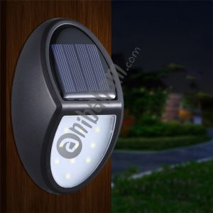 10 LEDs SMD 2835 Solar Powered IP65 Waterproof Outdoor Courtyard LED Wall Light