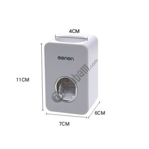 MENON Toothbrush Holder Automatic Toothpaste Squeezers Home Bathroom Set Toothpaste Dispenser Bathroom Accessories