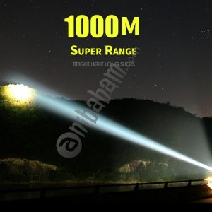 15W Super Bright Outdoor Handheld Portable USB Rechargeable Flashlight Torch Searchlight Multi-function Long Shots Lamp