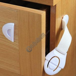 10 PCS Cabinet Door Lock Kids Drawer Locker Security Invisible Locks for Home Storage Child Lock Baby Safety Cabinet Lock