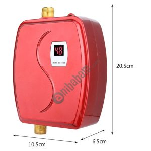 3800W Mini Electric Tankless Instant Hot Water Heater Bathroom Kitchen Washing Water Boiler Household Kitchen Appliance