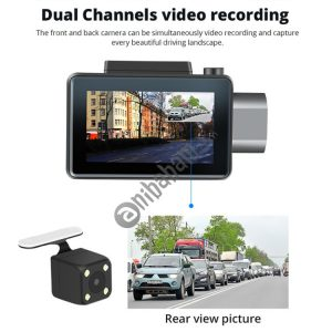 3 inch 140 Degrees Wide Angle Mini Full HD 1080P 3G Video Car DVR, Support TF Card / Loop Recording / WiFi / Starlight Night Vision / GPS / Remote Monitoring