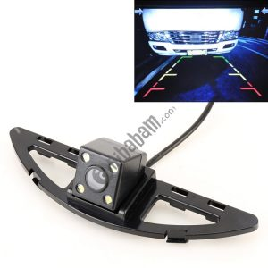 656×492 Effective Pixel HD Waterproof 4 LED Night Vision Wide Angle Car Rear View Backup Reverse Camera for Honda City 2014