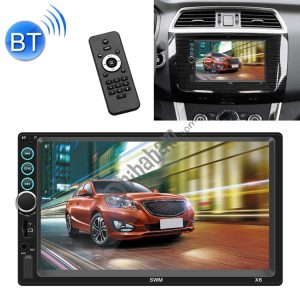 X6 7 inch Universal Car Radio Receiver MP5 Player, Support FM & Bluetooth & Phone Link with Remote Control