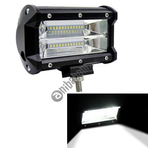 5 inch 18W 24 LED Waterproof IP67 Two Bar Modified Off-road Lights Spotlight Light Car Work Lights, DC 9-48V