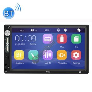 X5 7 inch 800×480 Universal Car Radio Receiver MP5 Player, Support FM & Bluetooth & USB & AUX