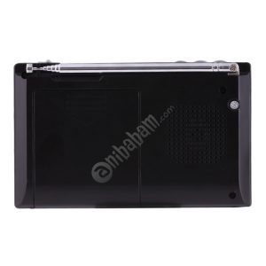 HAONING HN-315UA Portable FM AM SW (1-7) 9 Bands Channels Radio, Rechargeable Li-ion Battery, Support Micro TF Card / USB / MP3 Player
