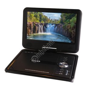 NS-913 9 inch TFT LCD Screen Digital Multimedia Portable TV & DVD Player, 180 Degree Rotation, Support TF Card / FM / USB / Game Function