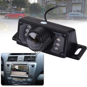 2.4G Wireless DVD Car Rear View Night Vision Reversing Backup Camera with 7 LED , Wide viewing angle: 120° (WX320EBS) (Black)