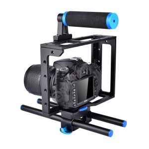 YELANGU YLG0107E Protective DSLR Camera Cage Stabilizer / Top Handle Set (Black)