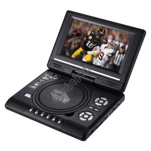 7.5 inch TFT LCD Screen Portable DVD with TV Player, Support SD / MMC Card / Game Function / USB Port (Black)