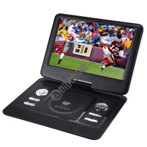 14.5 inch TFT LCD Screen Digital Multimedia Portable DVD with Card Reader & USB Port, Support TV (PAL / NTSC / SECAM) & Game Function, 270 Degree Rotation, Support SD / MS / MMC Card (Black)