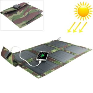 15W Portable Folding Solar Panel / Solar Charger Bag for Laptops / Mobile Phones