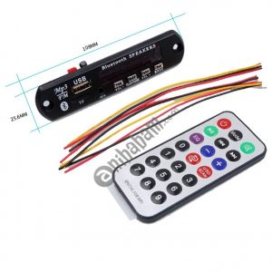 12V MP3 WMA Decoder Board Audio Module USB TF Radio with Bluetooth for Car accessories