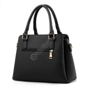 Fashion Women Tassel PU Leather Embroidery Crossbody Bag Shoulder Bag Simple Style Hand Bags