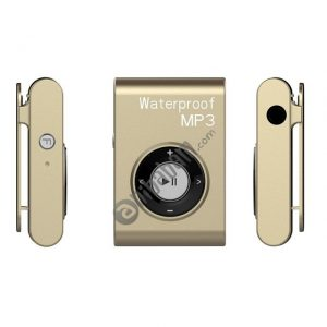 IPX8 Waterproof Swimming Diving Sports MP3 Music Player with Clip & Earphone, Support FM, Memory: 4GB